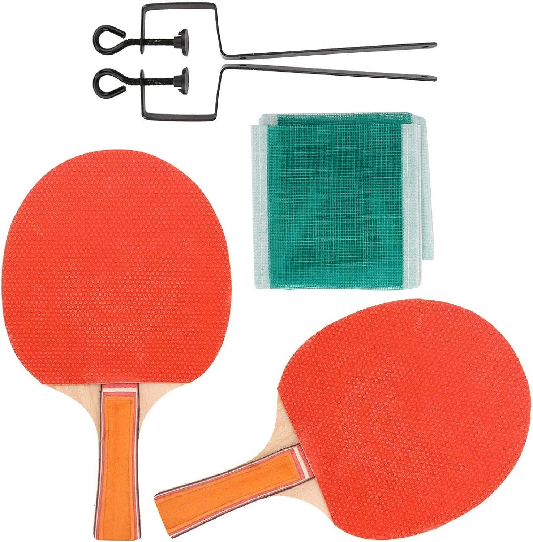 SALUTUYA Durable Paddle Bat Ping Pong Equipo Deportivo Mano de Obra Exquisita Placa Base de Madera Pura Resistente al Desgaste Robusta para Tenis de Mesa para competición de