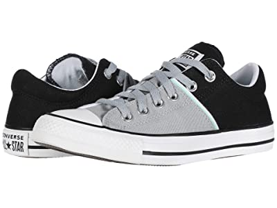 Converse CTAS Madison Ox (Black/Wolf Grey/White) Women