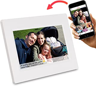 Feelcare 7 Inch Smart WiFi Digital Picture Frame with Touch Screen, Send Photos or Small..