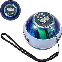 COLFULINE Energybal, autostart rotatiebal, led-licht, basic gyroscopische handtrainer, spiertrainer, met box, voor het tra...
