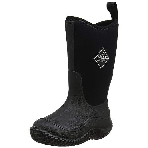 Muck Boots HALE Kids Girls Boys Waterproof Comfort Wellington Boots Black//Blue
