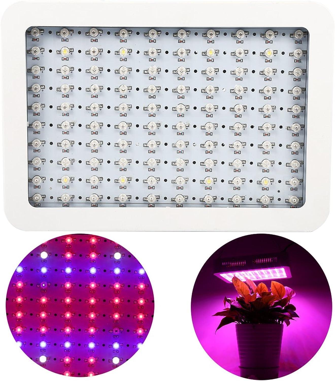 1000W LED Lampe Pflanze Beleuchtung von Hydrokulturen, Panel Lampe für Wachstum mit IR UV Licht für die Pflanzen Gemüse Blaume Zuhause