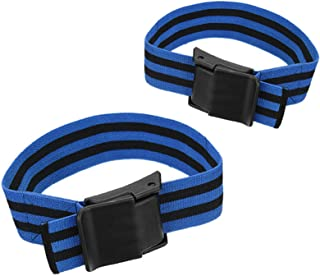 1 Pair Occlusion Training Bands, for Arms OR Legs,Blood Flow Restriction Bands Help Gain Muscle Without Lifting Heavy Weights