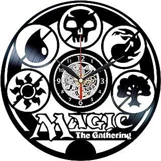 Queen Clocks Magic The Gathering Clock - Collectibles Vinyl Record Wall Art Decor - MTG Gift
