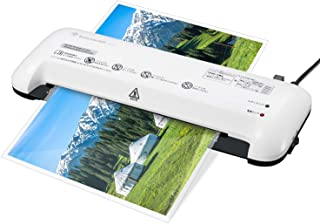 Bonsaii ラミネーター A4対応 ラミネート機 コンパクト 1分間400mm 名刺 カードサイズ 連続使用2時間 価格 ラミネート 気泡なし 業務用 家庭用 L409-A