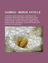 Gaming - Merge Article: Companies, Game companies, Handheld game consoles, Macintosh games, Mac games, Apple Computer, ATI Technologies, CBS ... Hasbro, Mattel, Radica, Sears, Telegames
