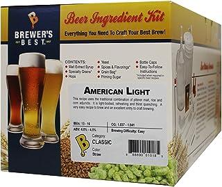 Brewer's Best American Light Homebrew Beer Ingredient Kit