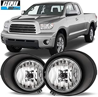 CPW for [2007-2013 Toyota Tundra] Driving Fog Lights Pair + Wiring + Switch Kit