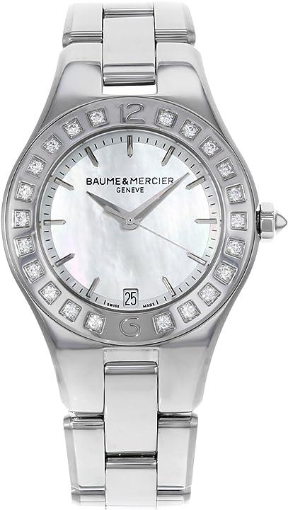 Orologio donna orologio da polso donna - baume&mercier moa10072