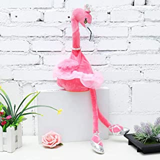 Sponsored Ad - KUCY Pink Flamingo Stuffed Toy, Singing and Dancing Flamingo Pet 20 Inches Stuffed Plush Cute Toy