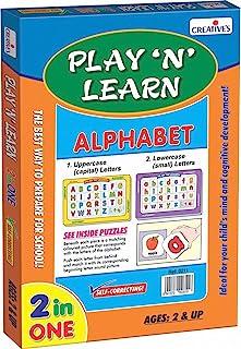 CREATIVE EDUCATIONAL Creative'S Play N Learn - Alphabet - 3 Years & Above (0339)