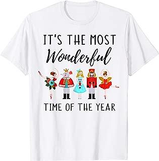 Nutcracker Dance Christmas Wonderful Time Of The Year Shirt