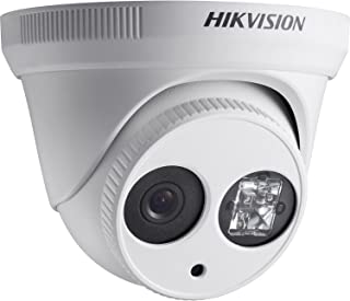 Hikvision 3MP Outdoor Turret Camera with EXIR Range of 100 ft, IP66 Rated, with Smart Alarm Features