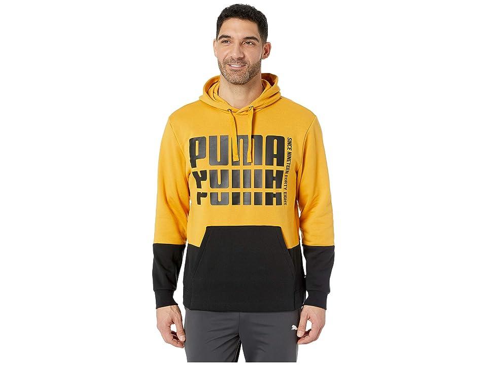 PUMA Rebel Up Hoodie Fleece (Sunflower) Men