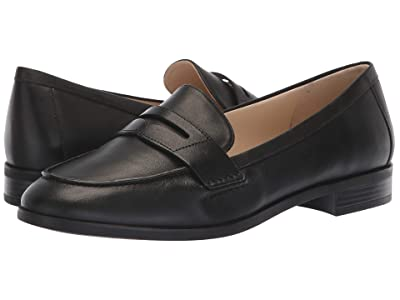 Cole Haan Pinch Grand Penny Loafer (Black Leather) Women