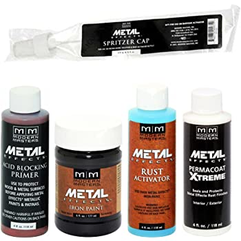 Modern Masters Metal Effects Iron Paint & Rust Activator Kit