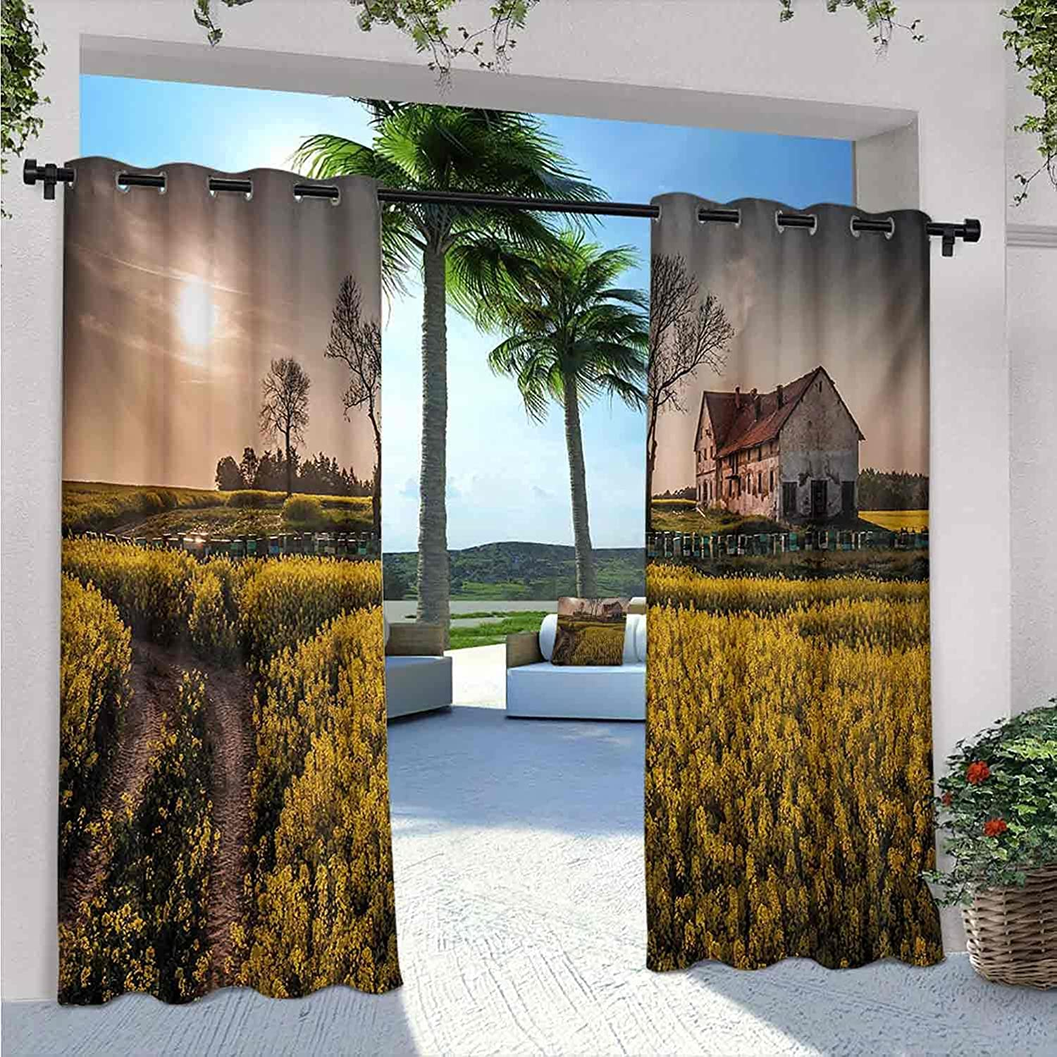 Country Home Outdoor Curtains Boston Mall for Ranking TOP12 Old Waterproof Abandone Patio