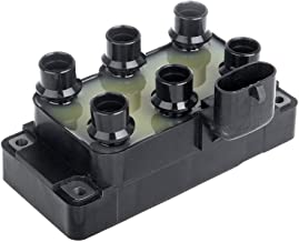 OCPTY Set of 1 Ignition Coil Compatible with OE: FD488 C901 Fit for Mazda MPV/Ford/Mercury/Jaguar XJ12 1989-2000