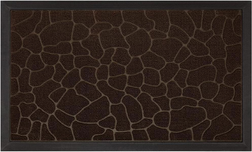Gorilla Grip Durable Natural Rubber Waterproof Mat Door shopping 47x35 5 ☆ popular