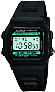 Casio #W86-1V Men's Standard 50M Chronograph Alarm Digital Watch with Luminous Light