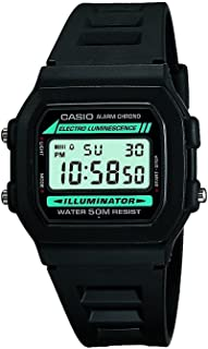 Casio #W86-1V Men's Standard 50M Chronograph Alarm Digital Watch with Luminous Light