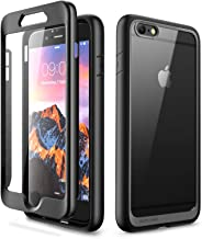 SUPCASE Unicorn Beetle Style Series Case for iPhone 6S Plus 5.5 inch, Premium Hybrid Protective Clear Case with Built-in Screen Protector for iPhone 6S Plus (Black)