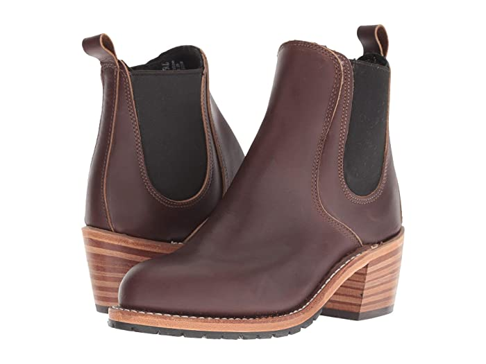 Red Wing Heritage Harriet (Mahogany) Women's Boots