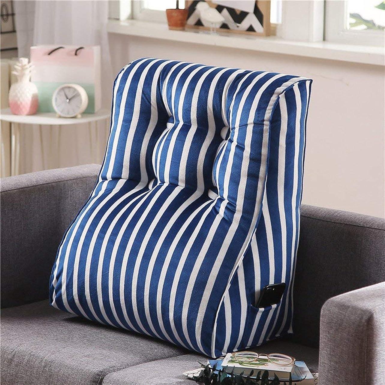 ドルタフグループ2J-QingYun Trade ベッドサイド三角くさび読書枕、ソファーバッククッションウエストバッククッションクッションオフィスチェアバッククッション (Color : J, サイズ : 50x60cm(20x24inch))
