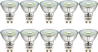 comprar comparacion EACLL Bombillas LED GU10 6000K Blanco Frio 5W Fuente de Luz 495 Lúmenes Equivalente 50W Halógena. AC 230V Sin Parpadeo Foc...