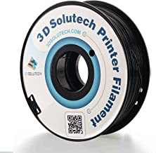 3D Solutech Real Black 1.75mm ABS 3D Printer Filament 2.2 LBS (1.0KG)