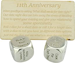 Stainless Steel Anniversary Gift for Him 11th Anniversary Steel Gift Eleventh Anniversary Metal Gift Jewelry Gift for Him Necklace
