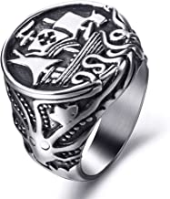 viking ship ring