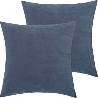 Best gray velvet pillow covers Reviews