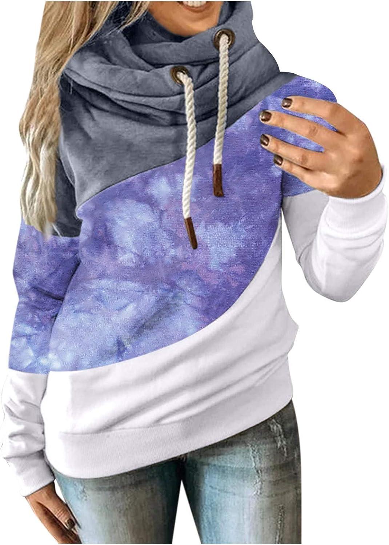 Obersheen Sweatshirts Women Crewneck - Contr Sleeve Seattle Mall Hoodies Cheap SALE Start Long