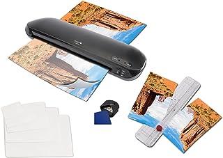 Olympia A330 Plus Set de plastificadora 4 en 1, tamaño DIN A3, dispositivo de corte, 15 láminas desde DIN A4 hasta tarjeta de visita, cortador de esquinas