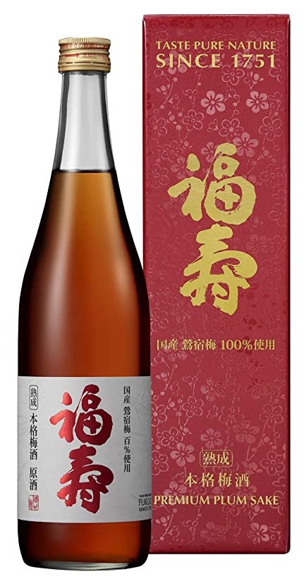 メディック動マーキング福寿 本格梅酒 熟成原酒 [ 720ml ] [ギフトBox入り]