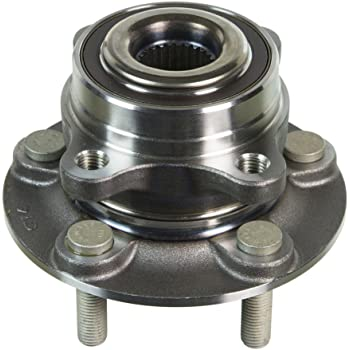 FKG 512498 Front Wheel Bearing Hub Assembly fit for 2013-2016 Ford Fusion 2013-2016 Lincoln MKZ 2017 Ford Fusion PLATINUM-S-SE-TITANIUM 5 Lugs