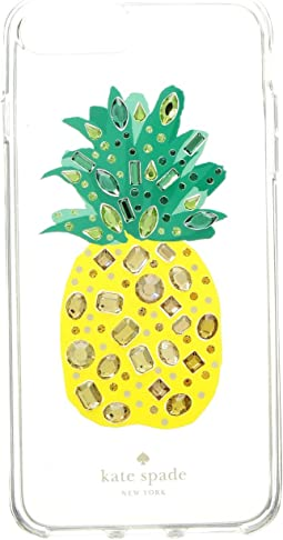 Jeweled Pineapple Phone Case for iPhone 8 Plus