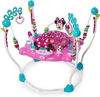 Xiangtat Minnie Mouse Peek-A-Boo Foldable Baby Girl Activity ، سرگرمی ، تمایل و جهش رشد با چراغ ها ، ملودی ها و اسباب بازی ها ،