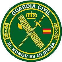Artimagen Pegatina rect/ángulos Bandera con Logo Guardia Civil Tr/áfico 9 uds Resina 16x11 mm//ud.