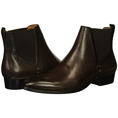 Steve Madden Simon (Brown Leather) Men