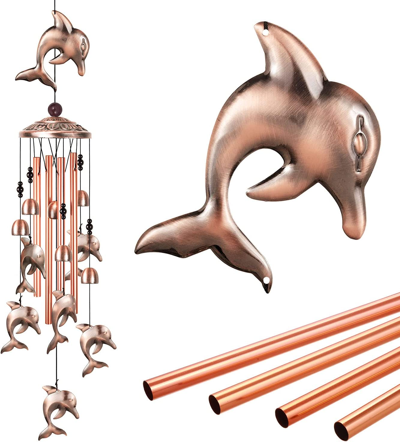12. Dolphin Wind Chime