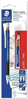 STAEDTLER Mars Micro - Portaminas (Incluye Tubo de Minas 0.5 mm HB), Color Azul