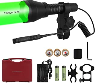 LUMENSHOOTER Ultimate A10 Zoomable Hunting Light with...