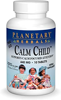 Planetary Herbals Calm Child Tablets, 432mg, 10 Count