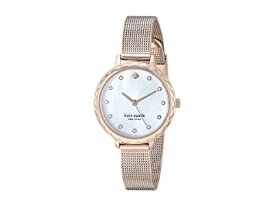 Kate Spade New York Morningside Stainless Steel Mesh Watch KSW1572 (Rose Gold) Watches