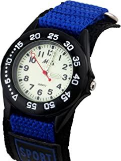 Vinmori Kids Watch Velcro Nylon Strap Luminous Outdoor...