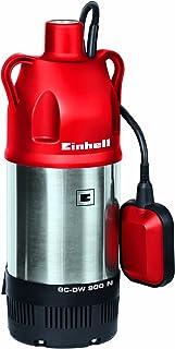 Einhell GC-DW 900N - Bomba de agua de profundidad para pozos (900W, capacidad de 6.000l/h, profundidad max. de 7m, conexión de manguera 33.3mm, sistema de impulsor de 3 etapas) (ref. 4170964)