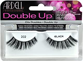 Ardell Double Up Human Hair False Eyelashes, Black 202