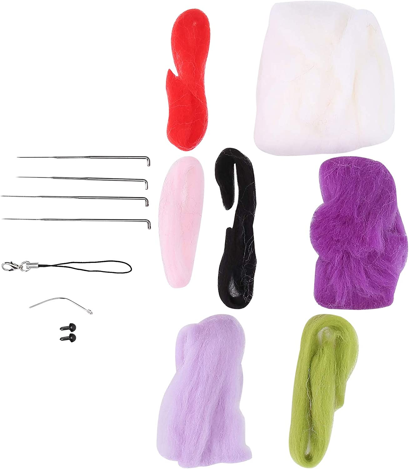 Needle Felting Outlet sale feature Bargain Kit Rabbit Doll Home Making DIY Decoration Craft